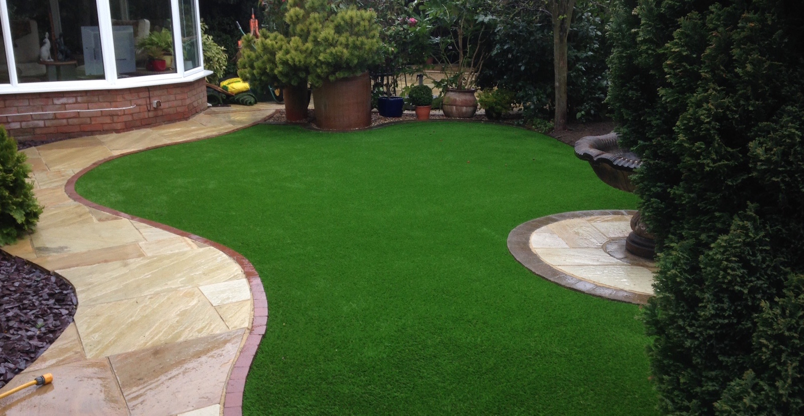 artificial grass in your garden