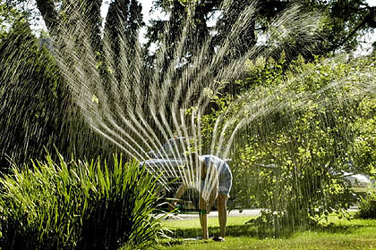 irrigation garden